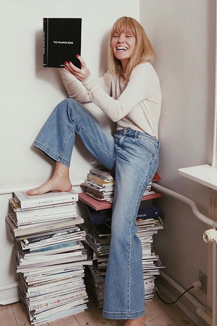 Jeanette Friis Madsen look jeans
