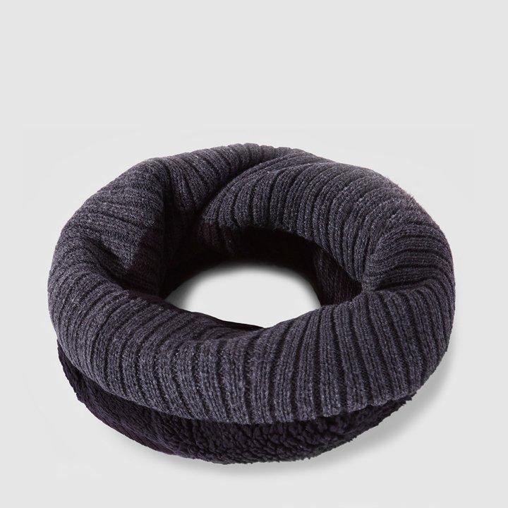 Cuello bicolor con forro de borrego de Isotoner: prendas borreguito