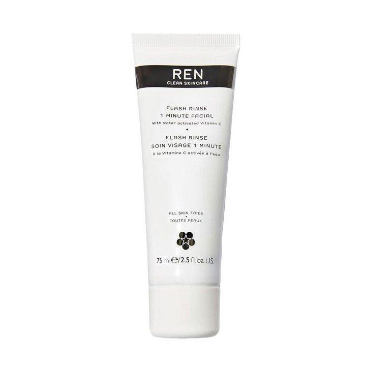 Flash Rinse 1 Minute Facial de REN Clean Skincare: productos flash buena cara