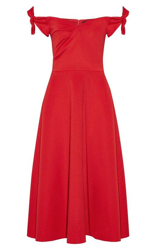 100 vestidos de invitada rojo