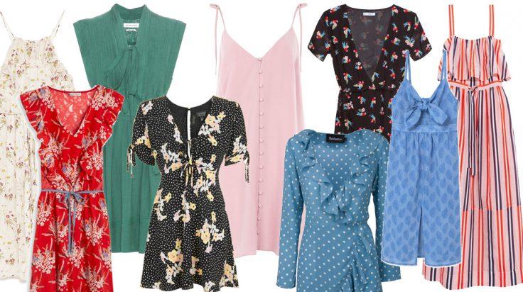 100 vestidos de primavera verano