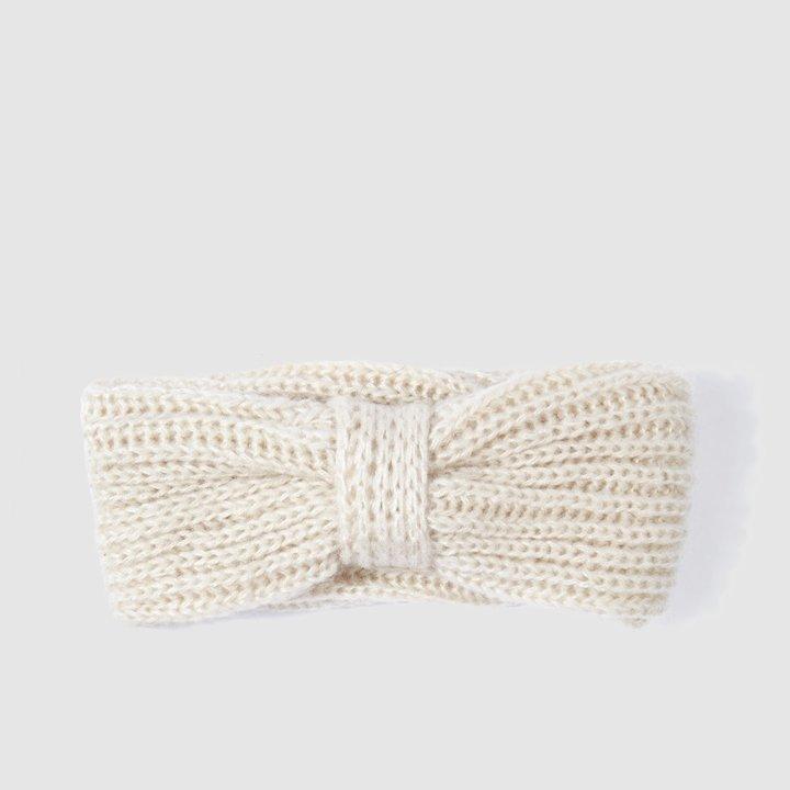 Banda de punto en color blanco de El Corte Inglés: complementos para el pelo