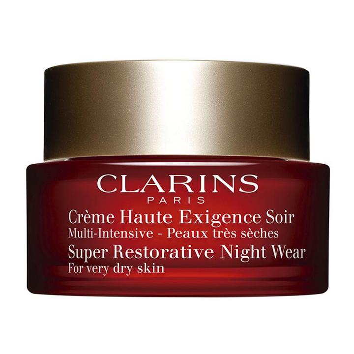 Crema Multi-Intensiva de Noche de Clarins: cosmetica para novias