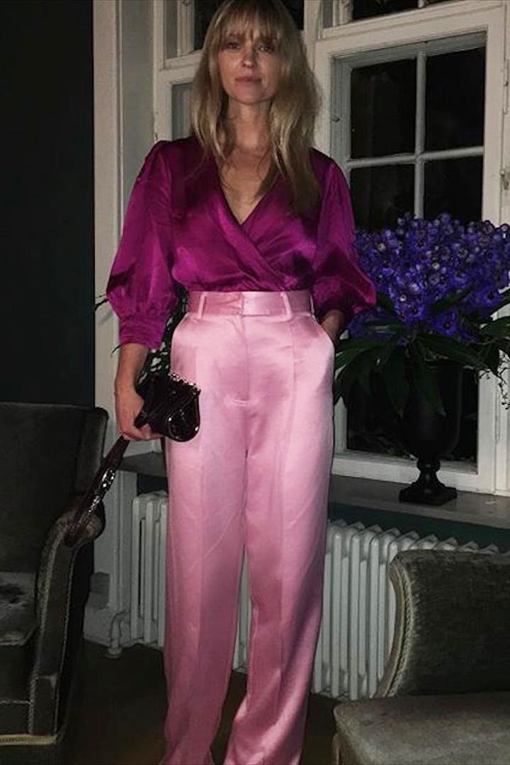 Jeanette Friis Madsen look rosa fiesta