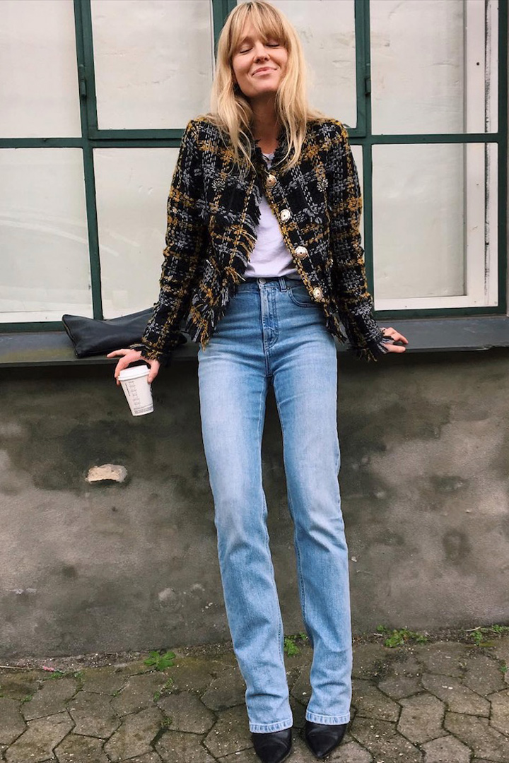 Jeanette Friis Madsen chaqueta otoñal 2018