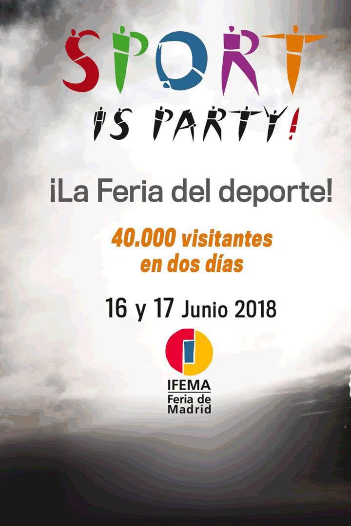 Sport is Party!: agenda junio 2018