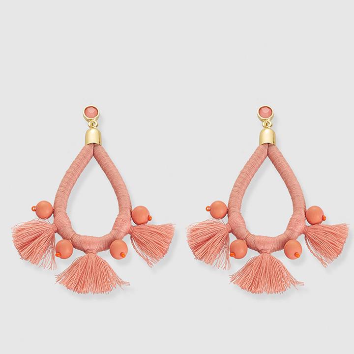 Pendientes de El Corte Inglés: prendas living coral
