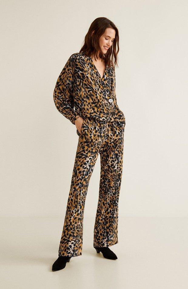 Blusa estampado leopardo: picando en nueva temporada