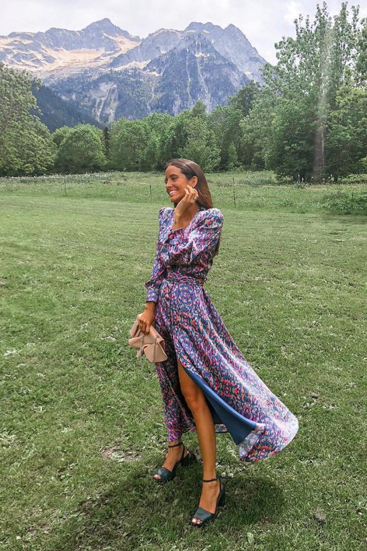 Morado: uno de los colores de temporada: inspiración invitada verano instagram