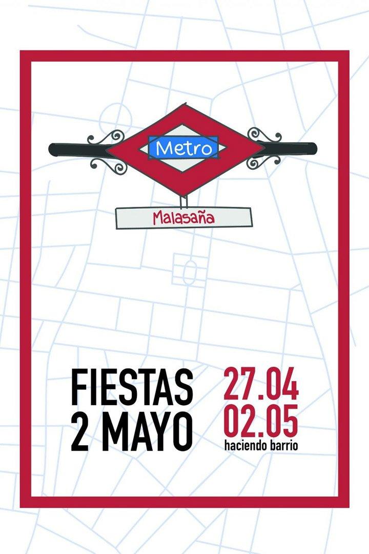 Fiestas Malasaña Agenda Mayo 2018