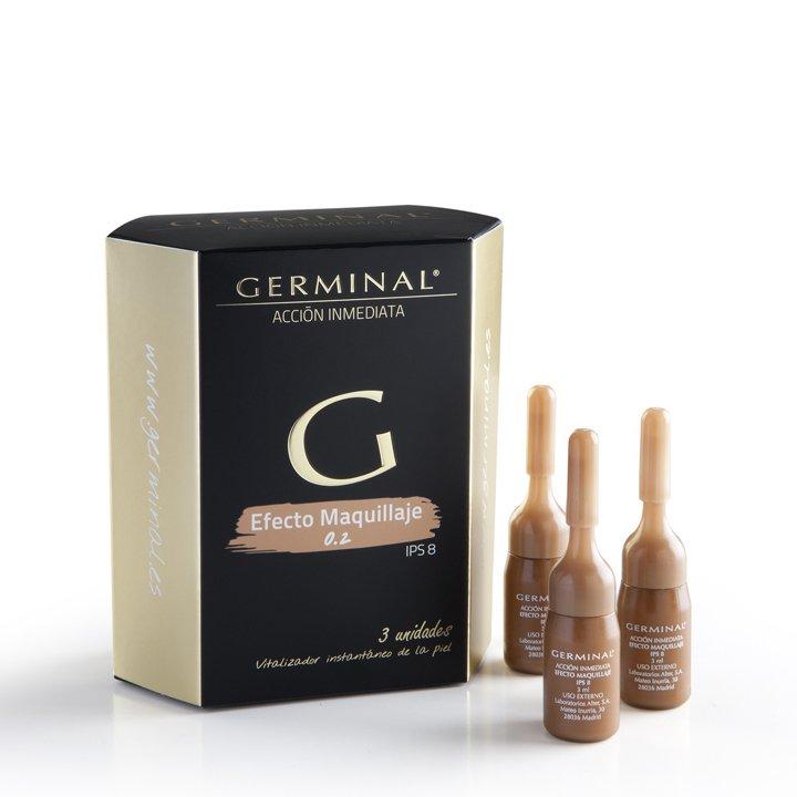 Acción Inmediata Efecto Maquillaje de Germinal: productos flash buena cara
