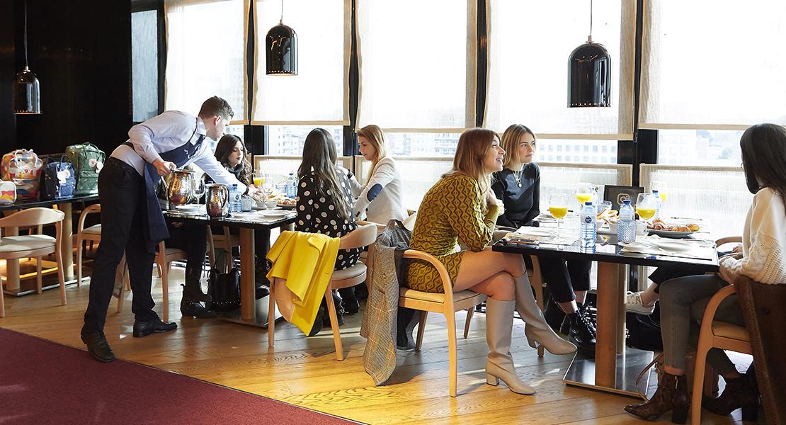 Influencers en el Café Clandestino en El Corte Inglés