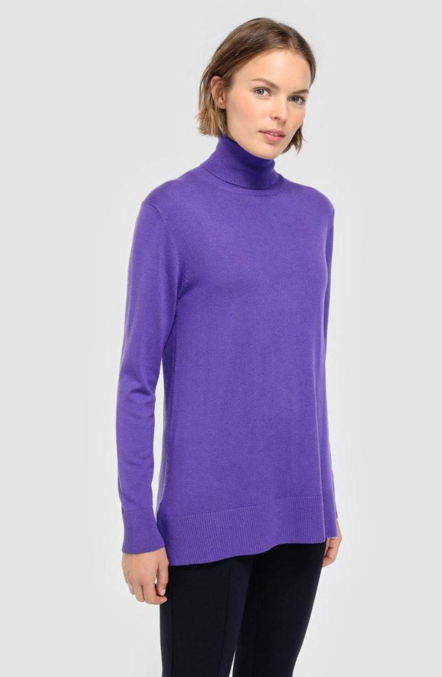 Jersey básico con seda de Woman El Corte Inglés: prendas colores ácidos