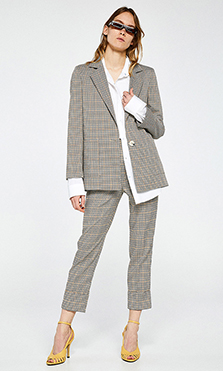 Traje de chaqueta de primavera 2019