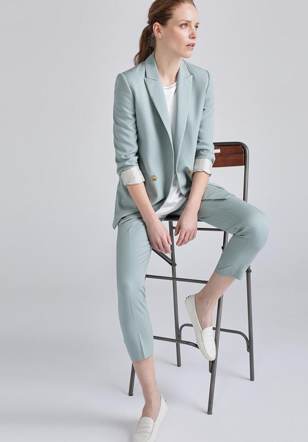 El Traje De Chaqueta El Look Perfecto Para Ir A La Oficina Stylelovely