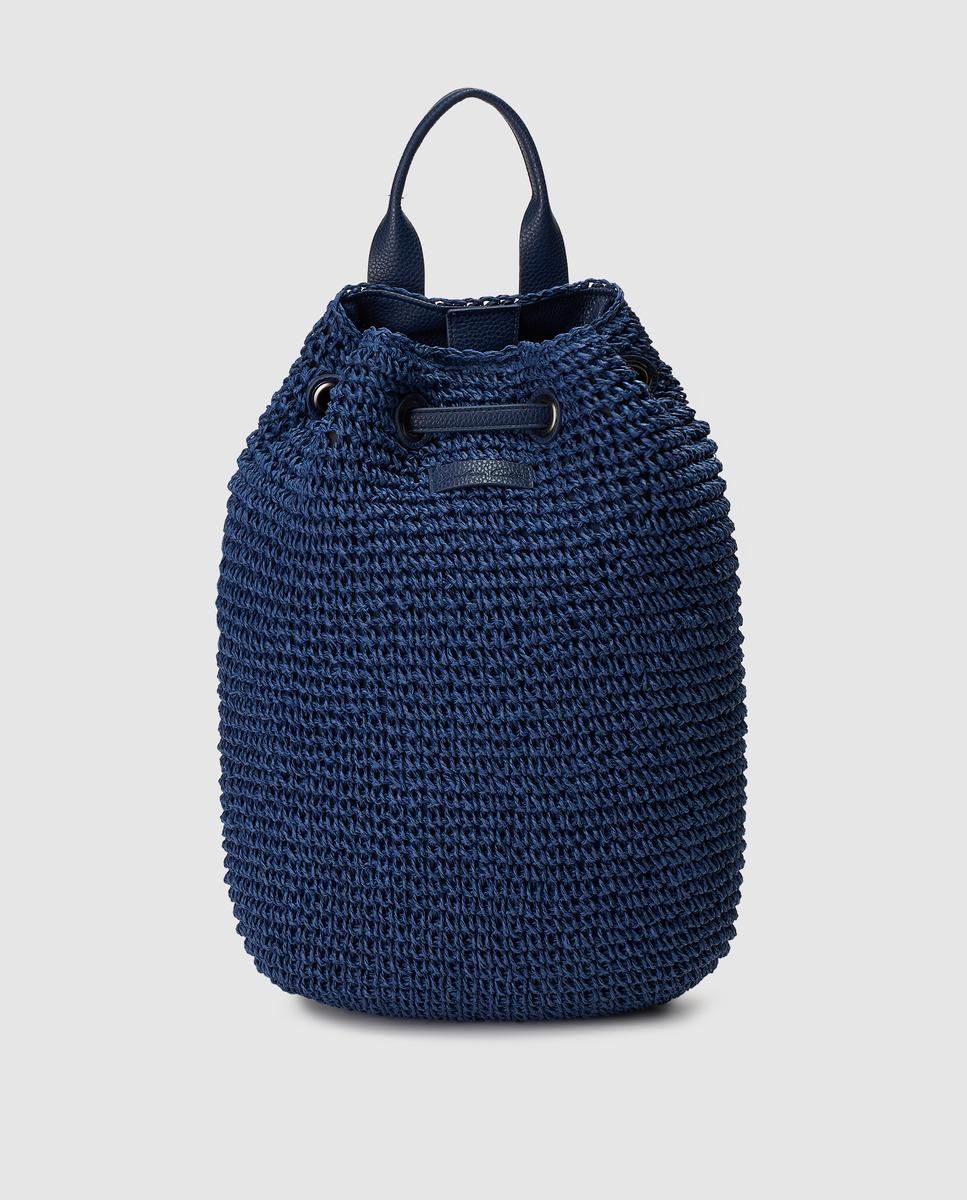 Mochila azul de Southern Cotton