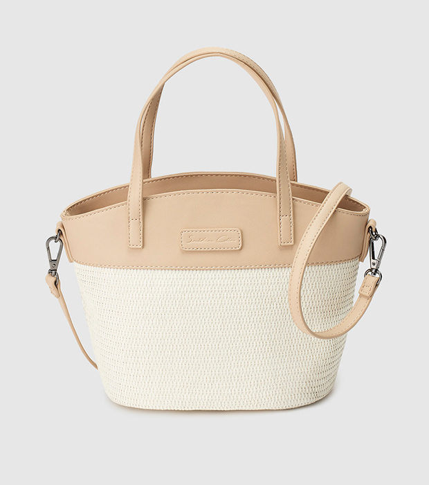 Bolso blanco de Southern Cotton
