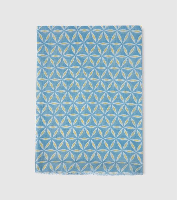 Pañuelo de estampado geométrico de Southern Cotton