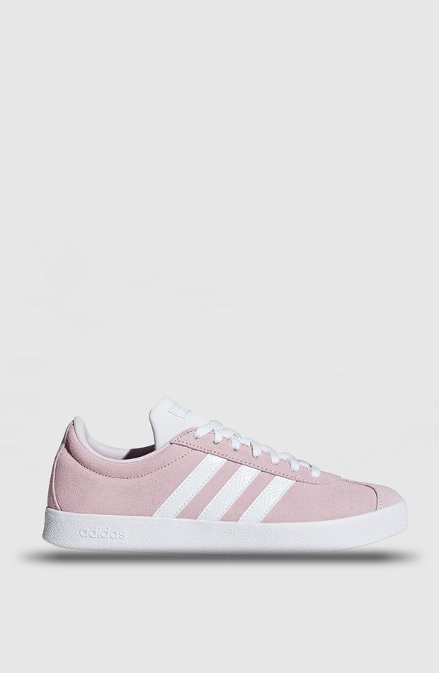 Zapatillas VL Court 2.0 de Adidas: prendas rosa