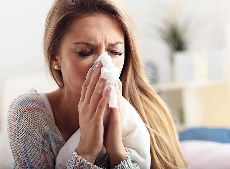 Síntomas de la alergia primaveral