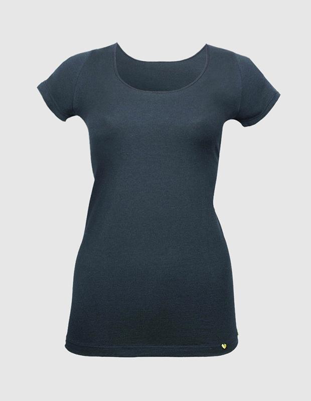 Camiseta interior con maga corta