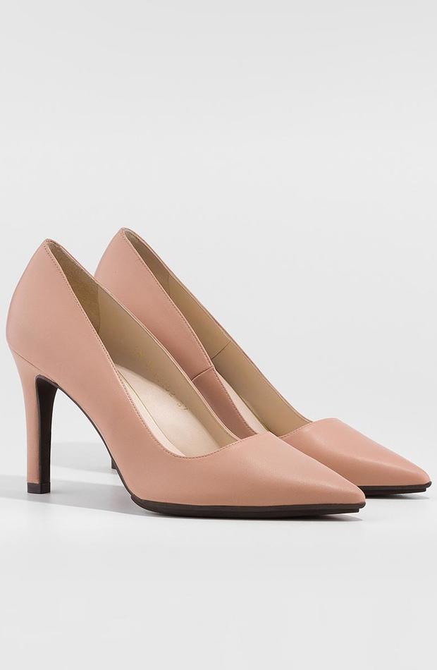 Zapatos de salón de piel de Lodi: looks para ir al teatro