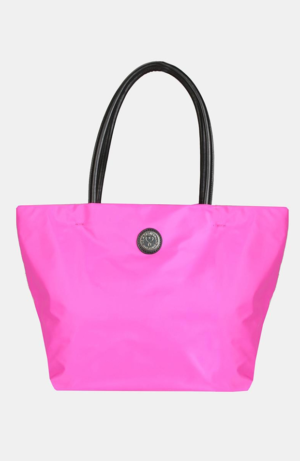 Bolso de hombro tipo shopper en rosa de Lola Casademunt: prendas rosa