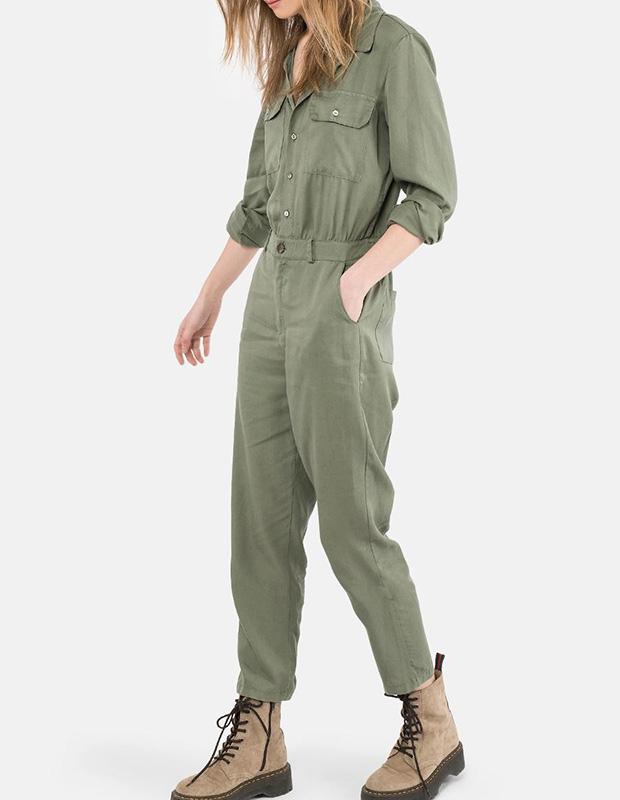 Boiler suit de estilo militar
