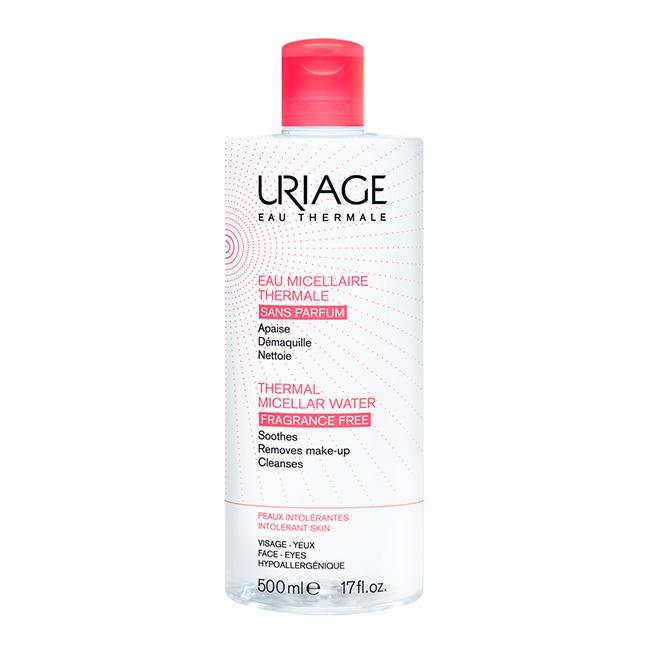 Los mejores productos para la limpieza facial: Agua Micelar de Uriage