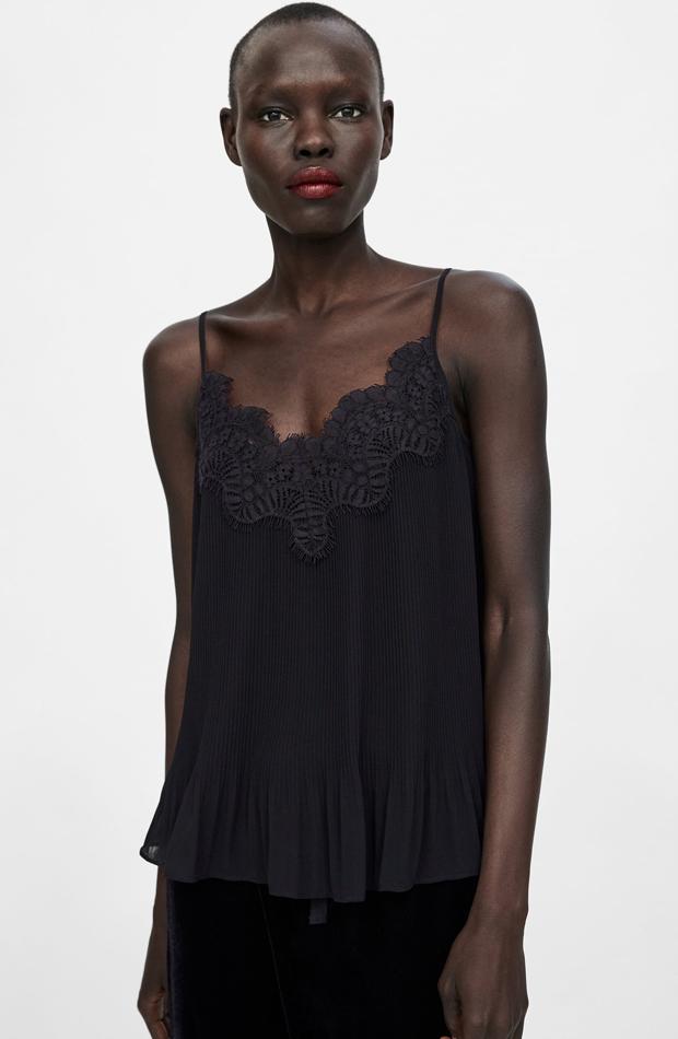 Top lencero: piezas de Zara que Rocío Osorno tiene en su armario