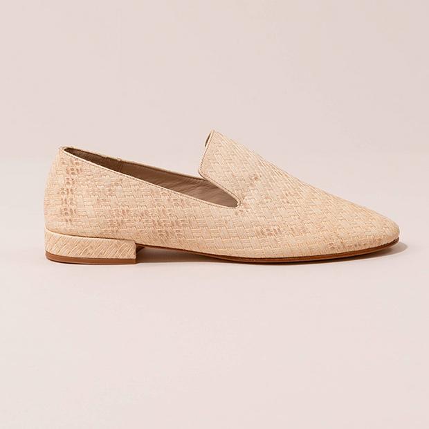 Zapatos de piel grabada de Mint & Rose