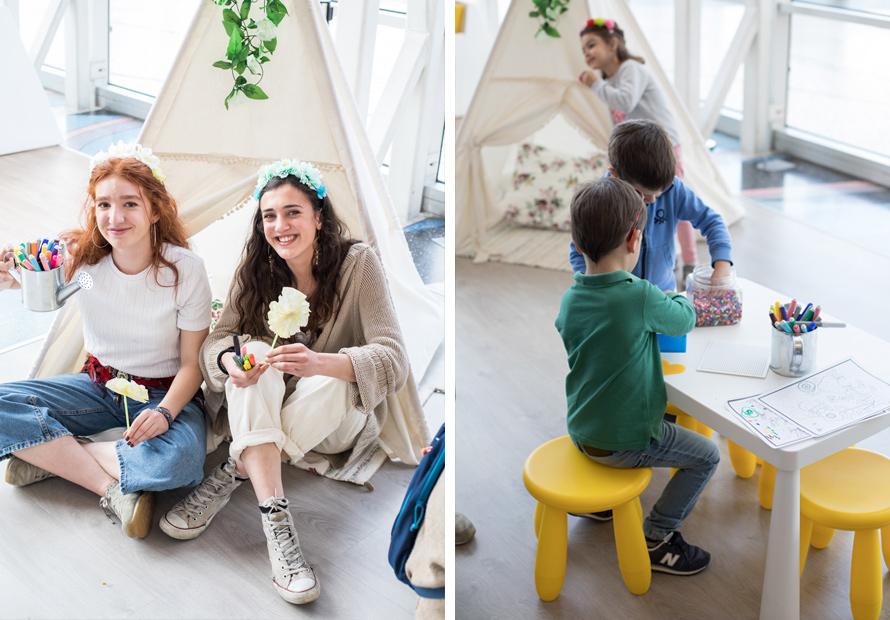 Actividades para niños en el evento Primavera en Luz del Tajo