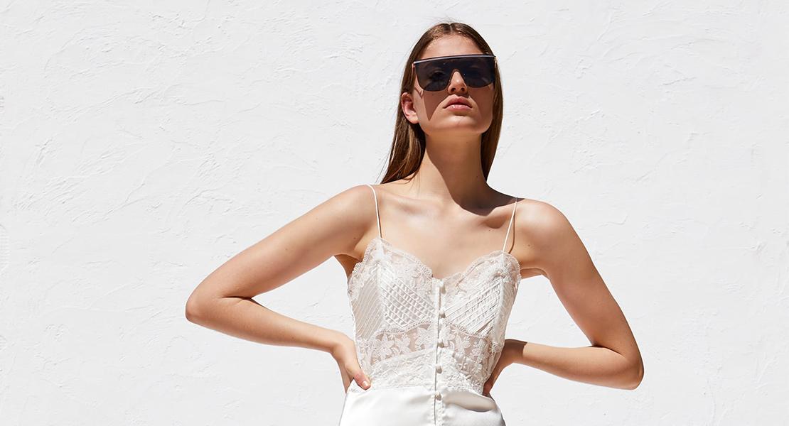 Vestido blanco verano 2019