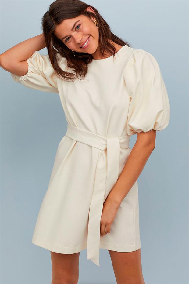 Vestido blanco de H&M