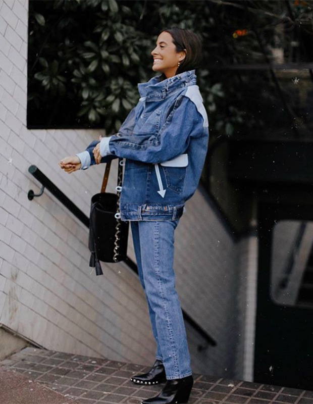 María Fernández - Rubíes con bolso de Lonbali