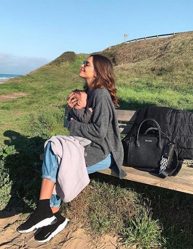 Rocío Osorno con bolso de Lonbali
