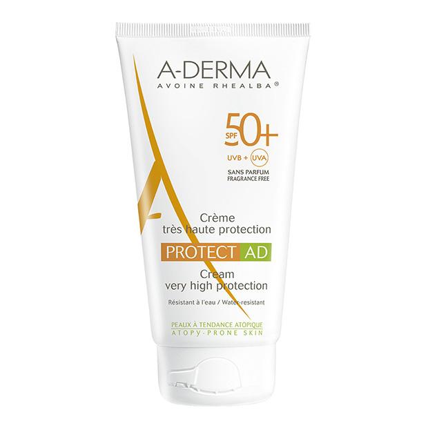 Crema SPF 50+ Pieles atópicas Aderma