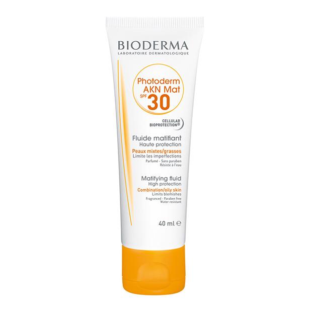 Fluido Photoderm Akn Mat SPF30 UVA 13 Pieles grasas y acnéicas Bioderma