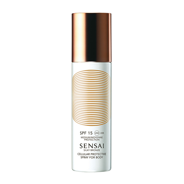 Spray corporal Cellular Protective SPF 15 de Sensai