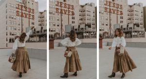 13 faldas midi que levantarán cualquier look