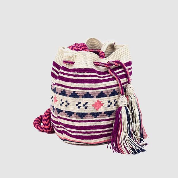 Bolso colorido de estilo Wayyu