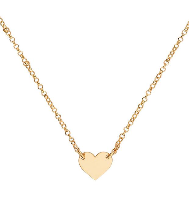 Gargantilla con forma de corazón de Silver Love