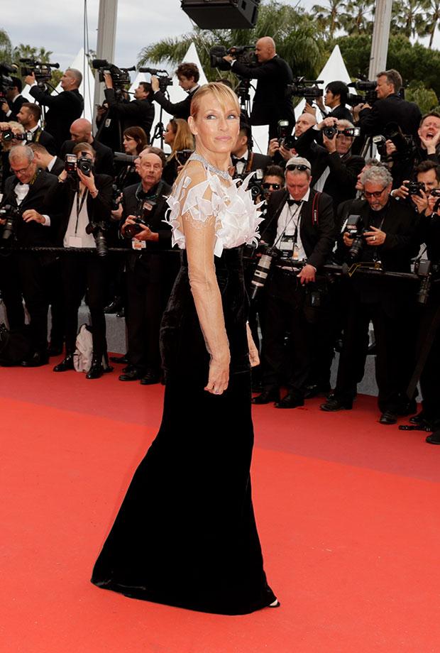 Estelle Lefébure en el Festival de cine de Cannes 2019