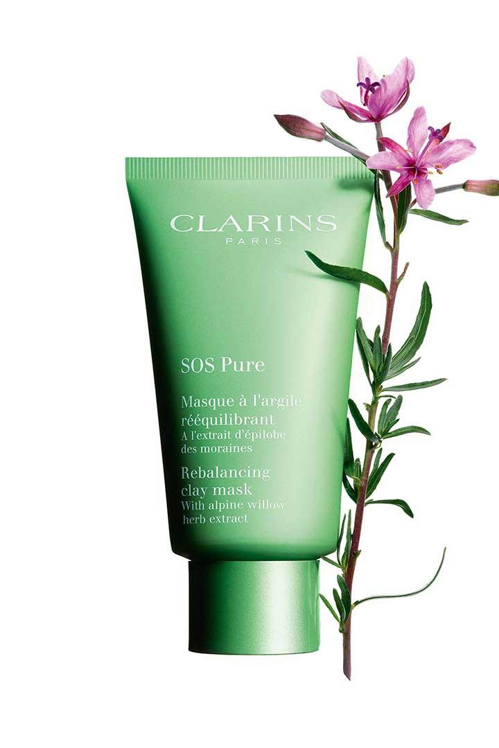 Productos piel clarins sos