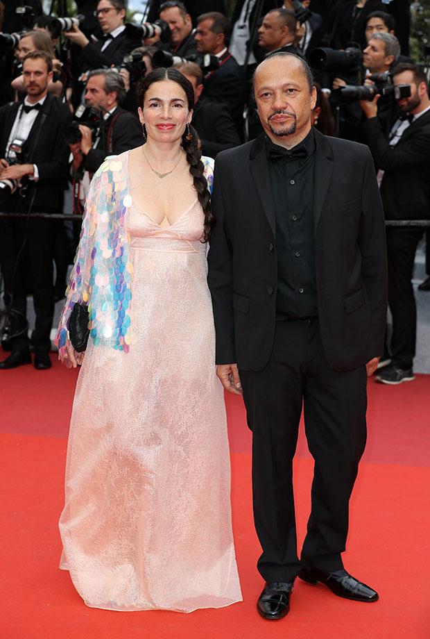 Yael Naim y David Donatien en el Festival de cine de Cannes 2019