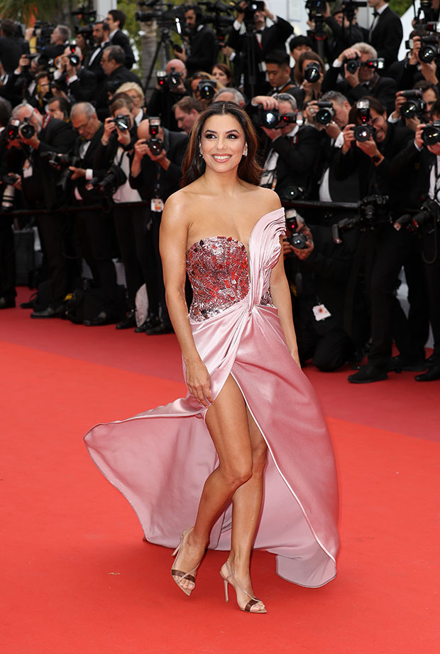 Eva Lonogoria en el Festival de cine de Cannes 2019