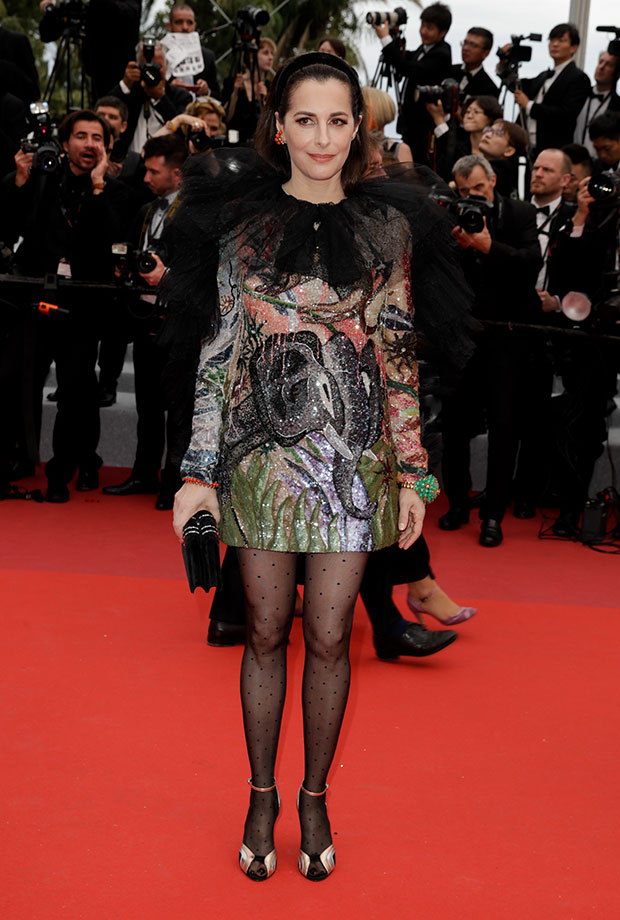 Amira Casar en el Festival de cine de Cannes 2019