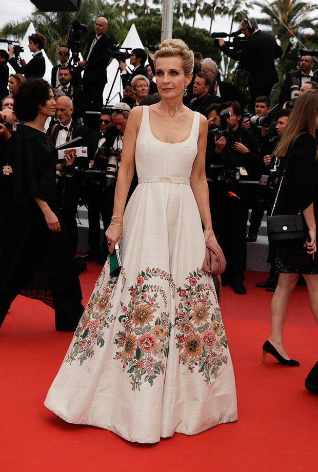 Mélita Toscan en el Festival de cine de Cannes 2019