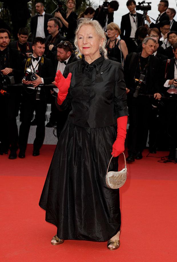 Agnès b. en el Festival de cine de Cannes 2019