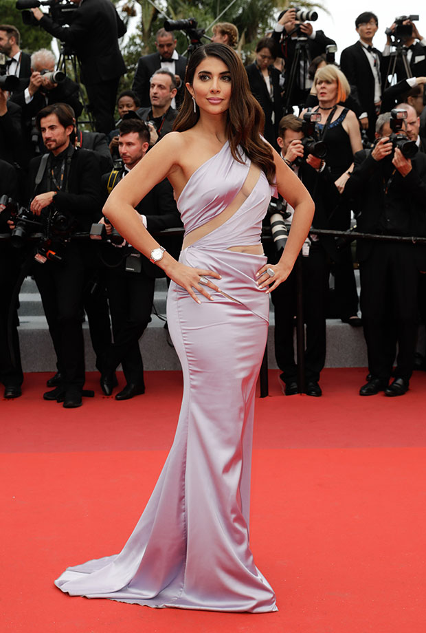 Paola Elsitt en el Festival de cine de Cannes 2019